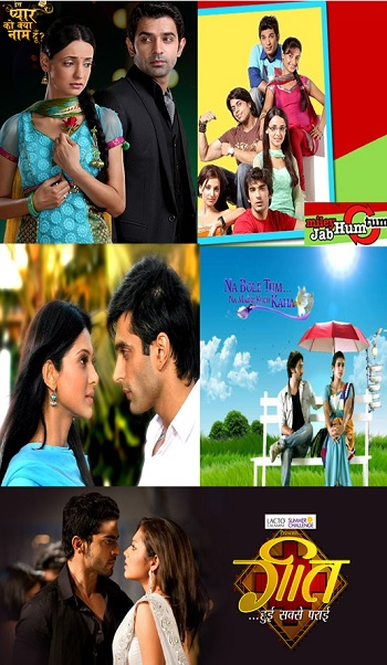 Top Five Love Stories On Indian Television