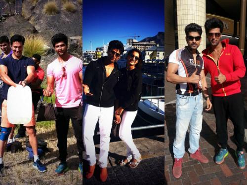 See Pics : Kushal and Gauahar with Gurmeet Chaudhary At South Africa