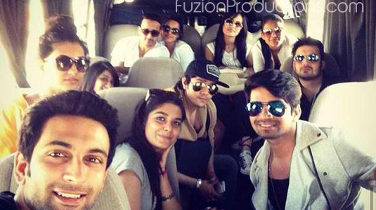 TV Celebs Shoot At The Gorgeous Locations Of Jordan – In Pics