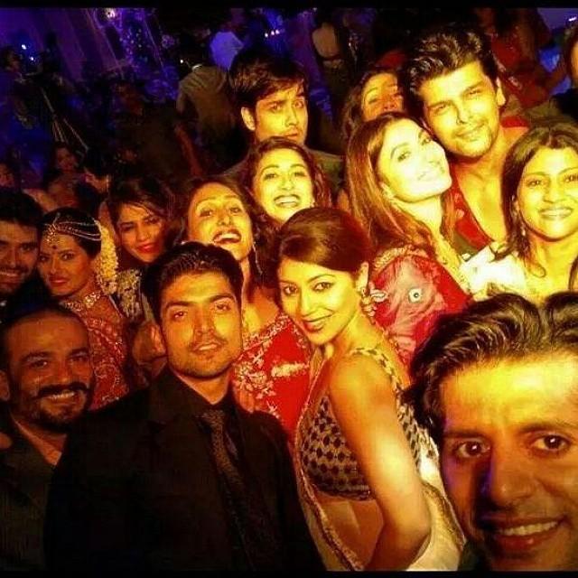 Vivian Dsena, Vahbiz Dorabjee, Karanvir Bohra, Mohit Raina And Others At Kratika And Nikitin Dheer's Wedding – In Pics