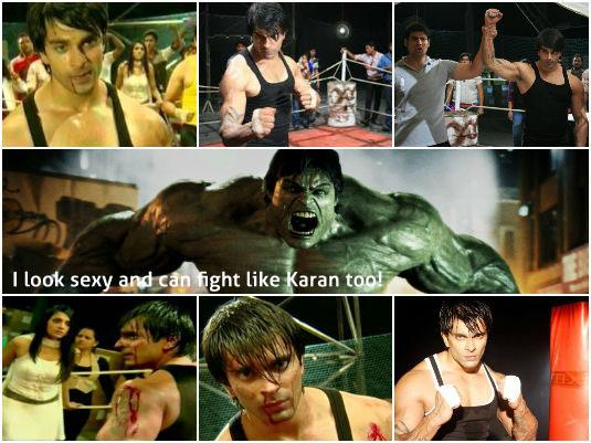 Karan Singh Grover - Fight Scene
