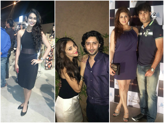 Vivian Dsena, Kunal Karan Kapoor, Aakansha Singh, Krrip Suri Among Other TV Stars Spotted At A party!