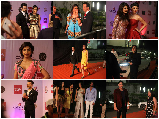 TV Actors At The Television Style Awards Red Carpet – PHOTOS