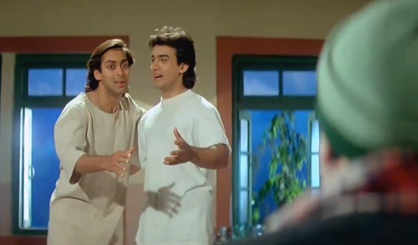 Andaaz Apna Apna - Salman Khan and Aamir Khan