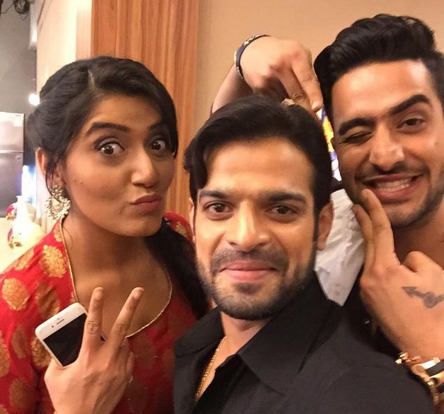 Karan Patel With Aly Goni And Shireen Mirza