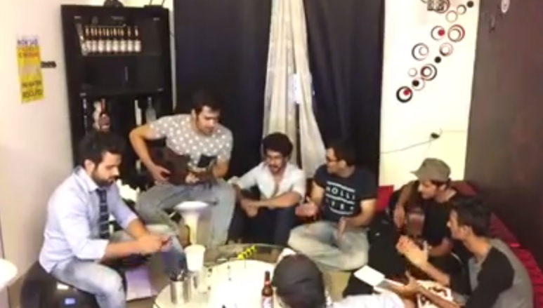 Badtameez Dil's Mere Nishaan Jamming Session