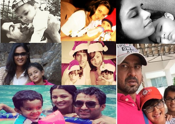 TV Actors With Their Real Life Children – PHOTO FEATURE