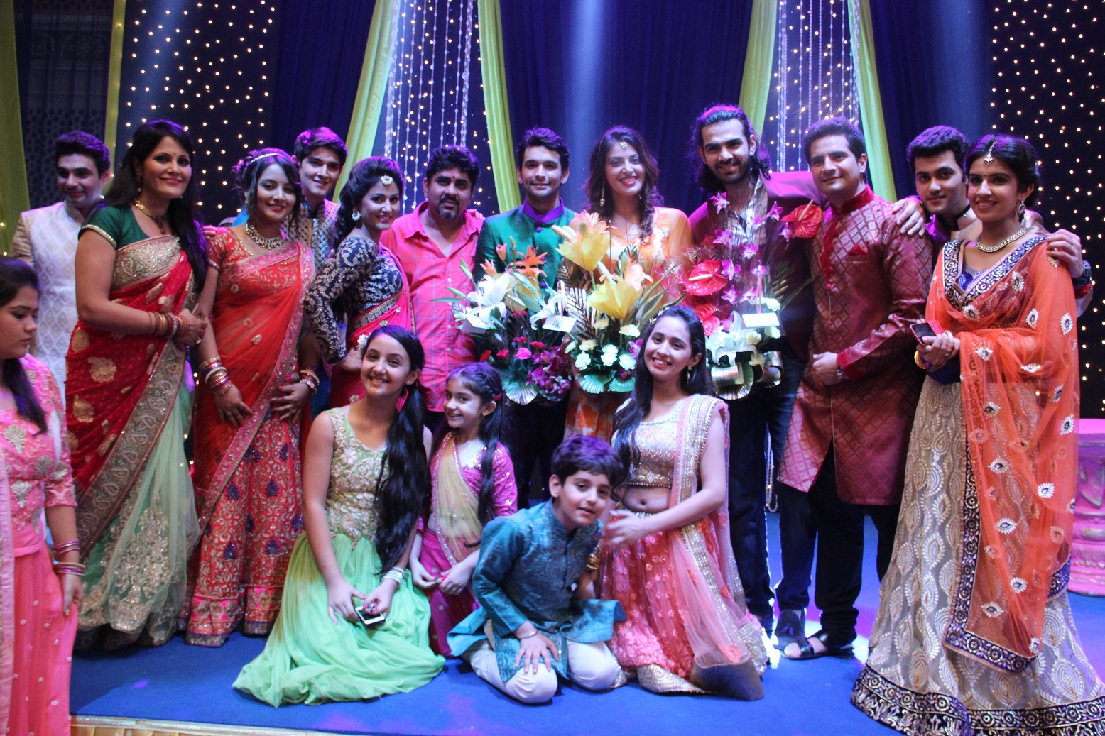 The Yeh Rishta Ky Kehlata Hai Team With Karan V Grover, Anushka Ranjan And Diganth