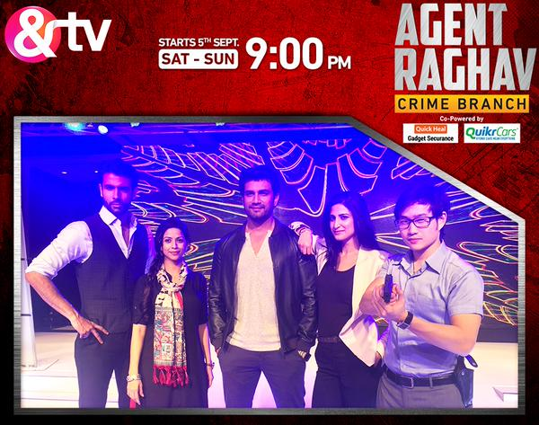 The Agents Together (Image Courtesy : &TV)