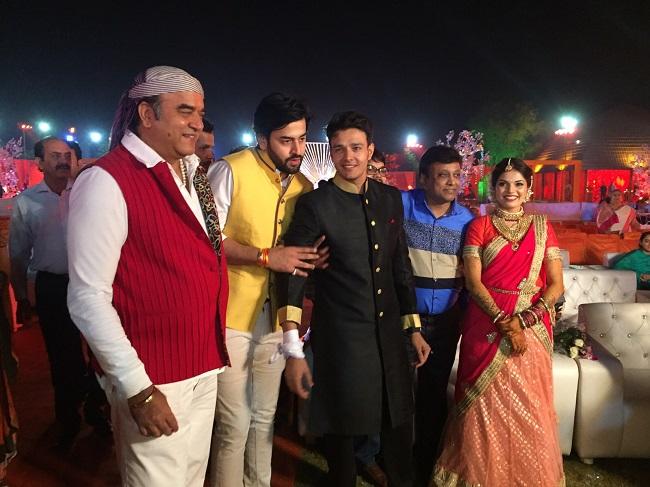Television Actor Aniruddh Dave's Lavish Sangeet Ceremony At Jaipur – PHOTOS