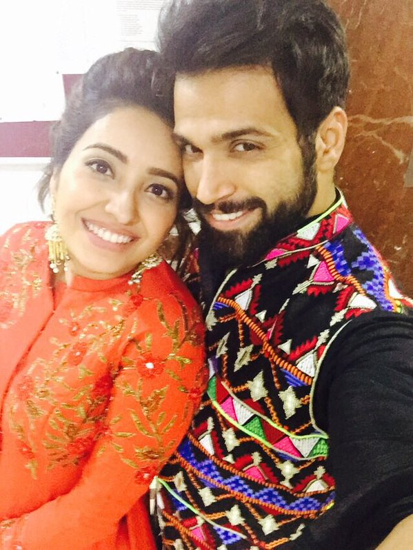 Rithvik Dhanjani And Asha Negi On Diwali