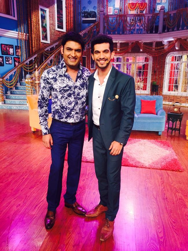 When Arjun Bijlani Met Kapil Sharma On Comedy Nights With Kapil!