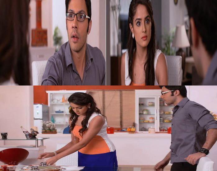 Akshat and Meher In Badtameez Dil