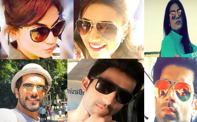 TV Actors Show How To Beat The Hot Summer With Cool Shades – PHOTO FEATURE