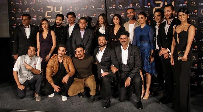Team Of 24 With Colors CEO Raj Nayak