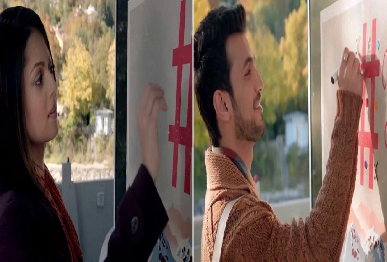 Arjun Bijlani And Drashti Dhami In Pardes Mein Hai Mera Dil