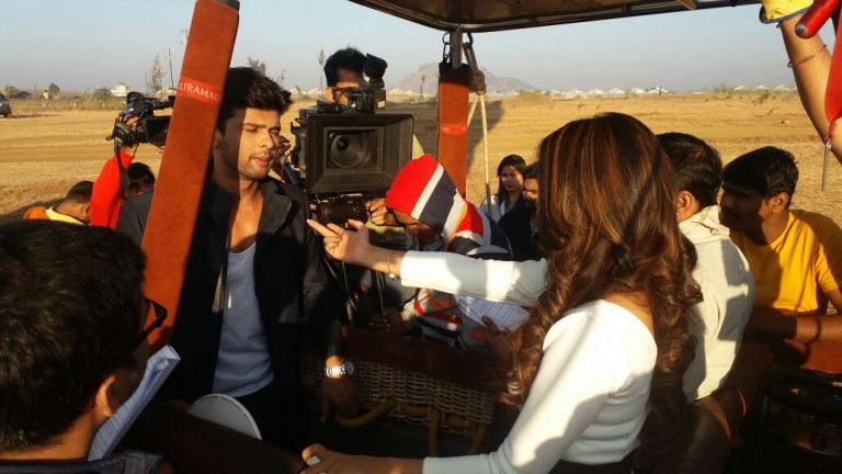 Maya To Propose Arjun In The Air In Beyhadh – A Glimpse Of How The Team Shot The Sequence In A Hot Air Balloon – PICS