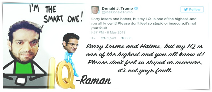 Donald Trump - Raman Of Ye Hai Mohabbatein