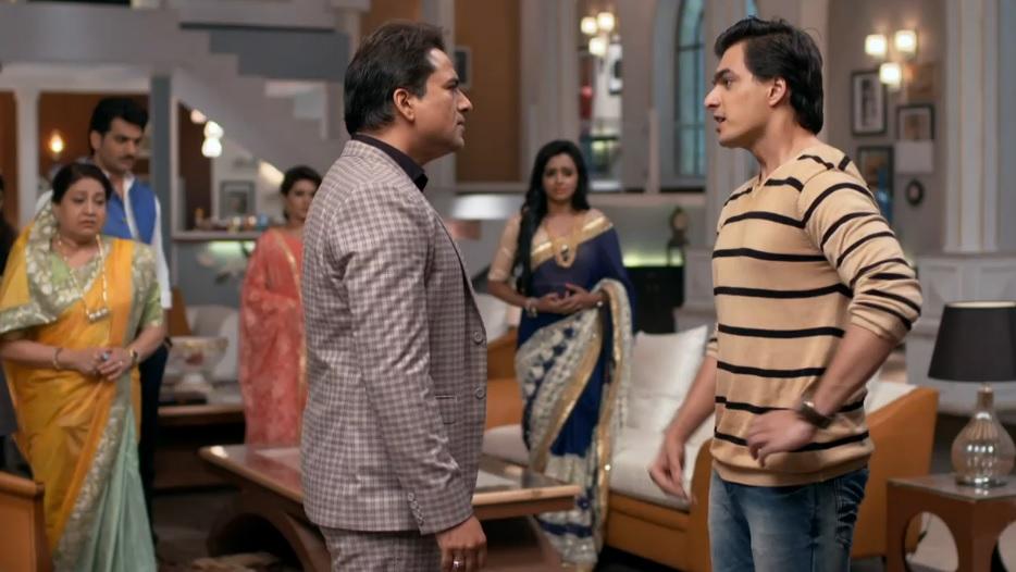 Sachin Tyagi And Mohsin Khan In Yeh Rishta Kya Kehlata Hai