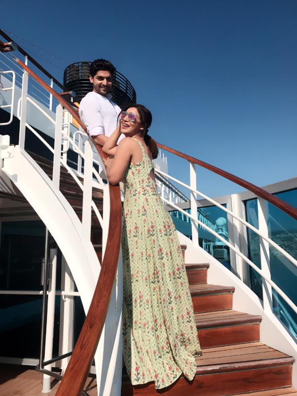 Debina Bonnerjee And Gurmeet  Choudhary Enjoy Cruise Wedding In Barcelona!