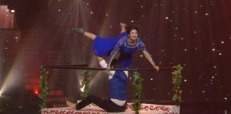Divyanka Tripathi And Vivek Dahiya In Nach Baliye