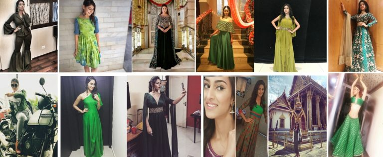 TV Actresses : The Style Icons GLOWING In The Colour GREEN – IN PICS