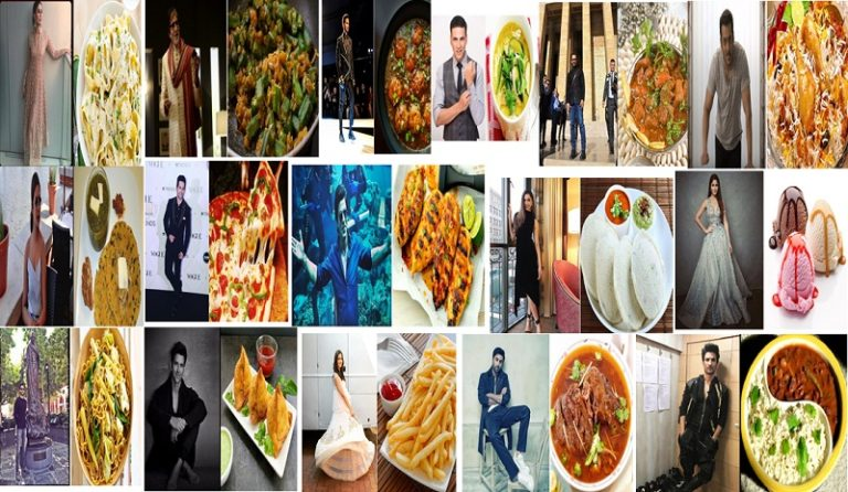 Bollywood Celebrities And Their Favourite Food!