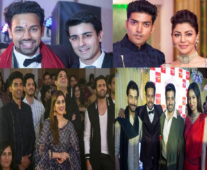 Gurmeet Choudhary, Debina Bonnerjee, Gautam Rode, Ssharad Malhotraa And Celebs At  Saurabh Pandey's Engagement Party! – PHOTOS