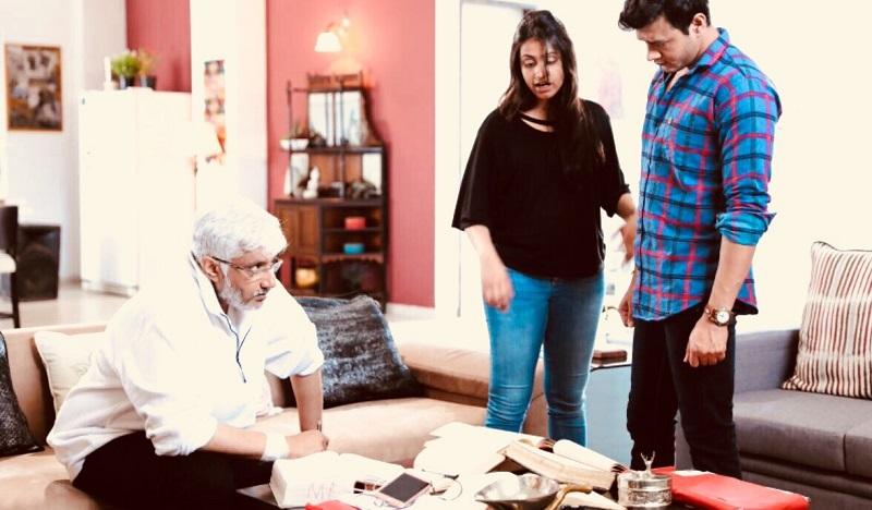 Vikram Bhatt And Aniruddh Dave In Untouchables