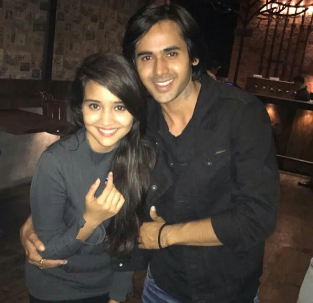 Ashi Singh And Randeep Rai