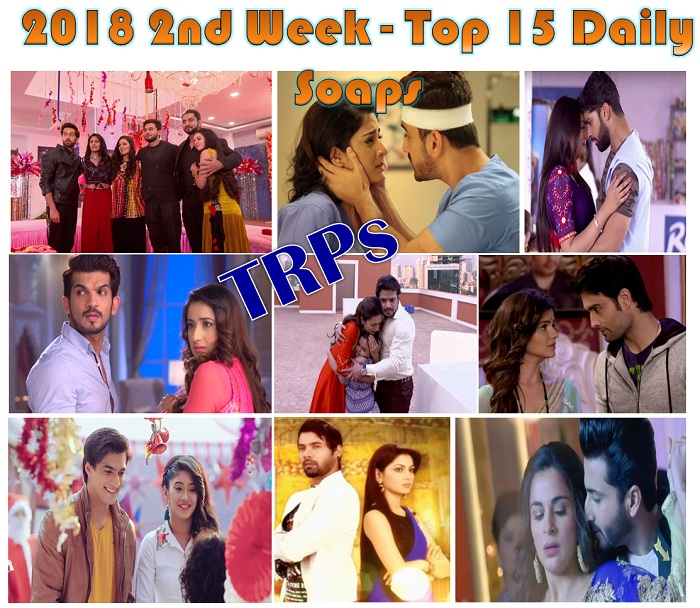 2018 2nd Week – Top 15 Daily Soaps Based On TRPs – Open To Know If Your Favourite Made To The List!