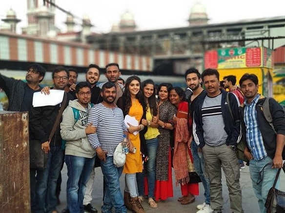 The Entire Cast Of Zee Tv S Upcoming Show Ishq Subhan Allah Shooting At Lucknow On Location Pics Fuzion Productions