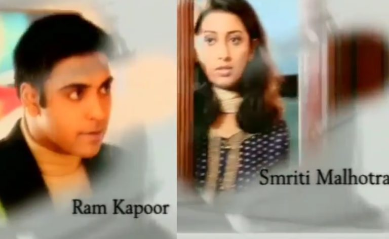 Did You Know? – Ram Kapoor And Smriti Irani Have Worked Together In A Show?