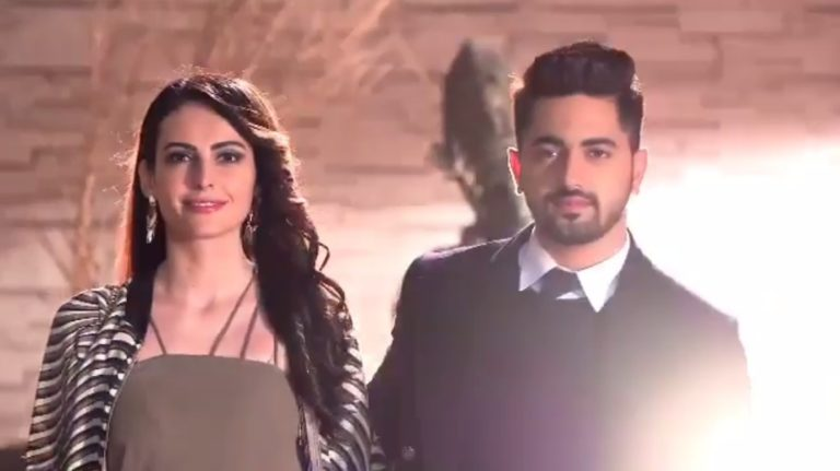 FIRST LOOK – Zain Imam And Mandana Karimi's Smashing Entry In The Oberoi Mansion In Ishqbaaz!