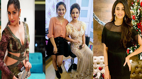 Shrushti Gupta, Surbhi Chandna, Erica Fernandes, and Hina Khan