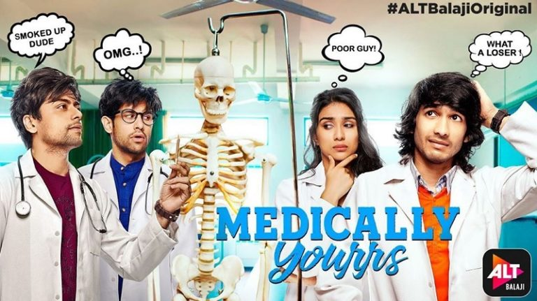 Here's The First Look And Introduction of ALT Balaji's Medically Yourrs Starring Shantanu Maheshwari!