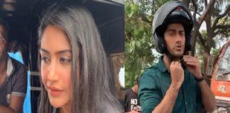 Surbhi Chandna And Namit Khanna Shooting For Sanjivani