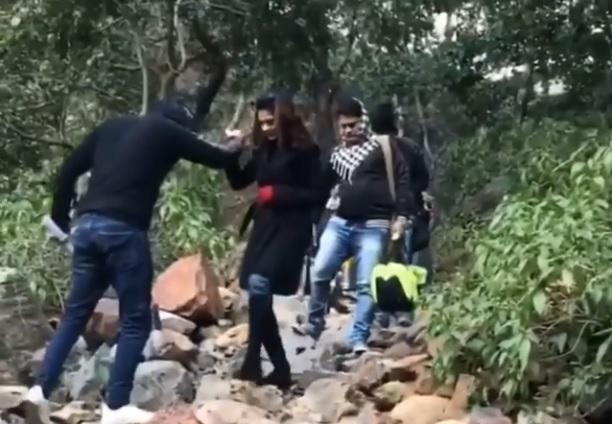 Jennifer Winget And Shivin Narang In Rishikesh