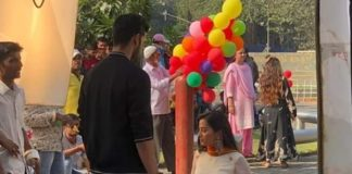 Helly Shah Shooting For Ishq Mein Marjawan 2
