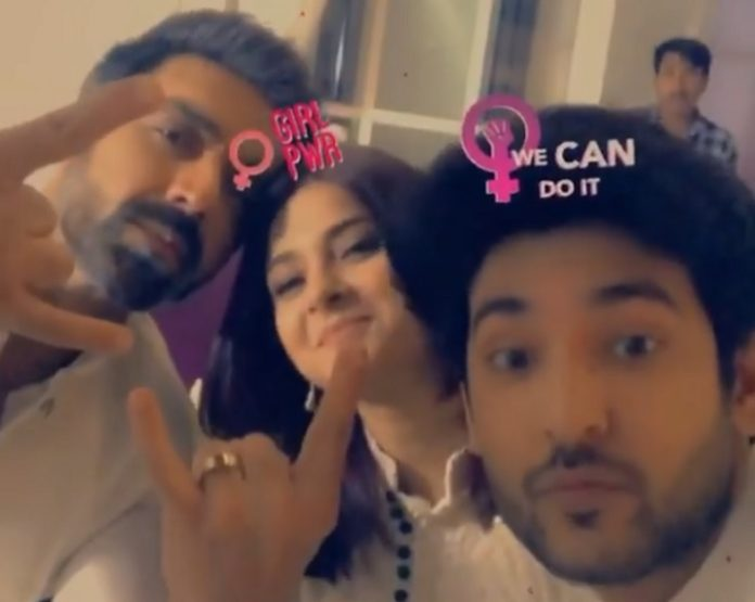 Shivin Narang, Jennifer Winget And Ashish Chowdhry