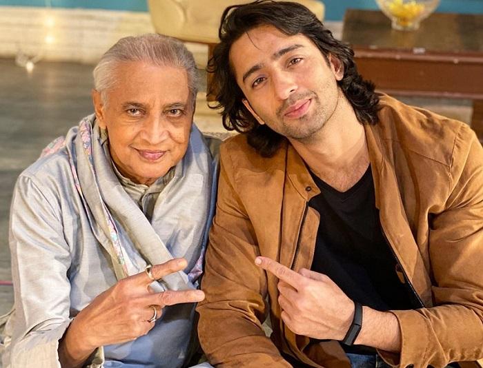 Shaheer Sheikh With Deepak Gheewala