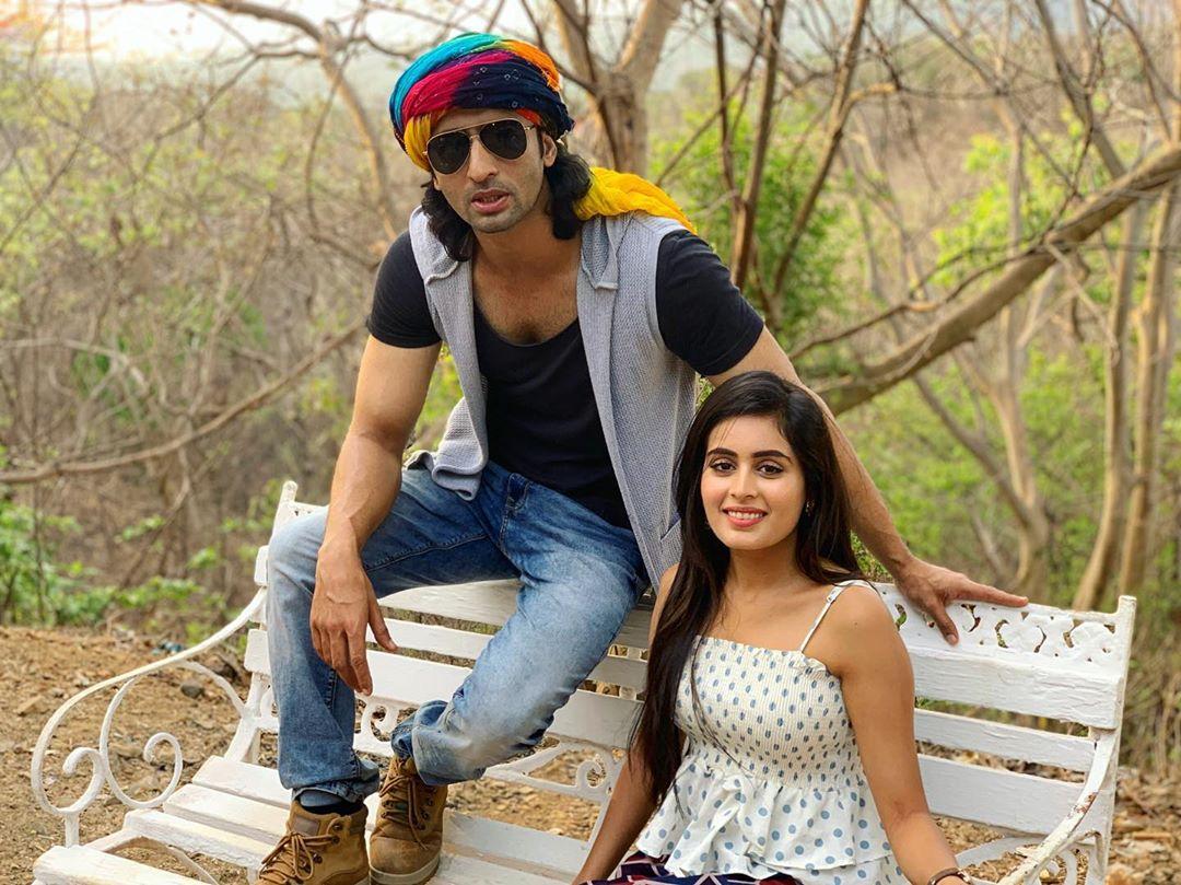 Shaheer Sheikh And Rhea Sharma
