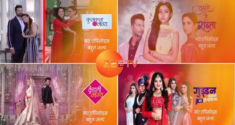 Zee TV : New Episodes Of The Current Running Shows To Be Out Soon!