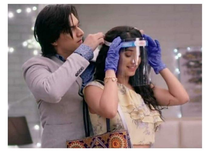 Mohsin Khan And Shivangi Joshi In Yeh Rishta Kya Kehlata Hai
