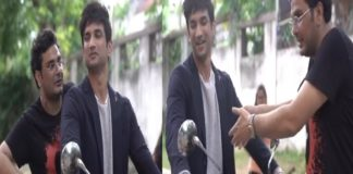 Sushant Singh Rajput And Mukesh Chhabra Shooting for Dil Bechara