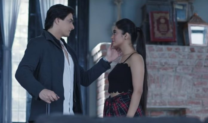 Mohsin Khan And Shivangi Joshi In Baarish