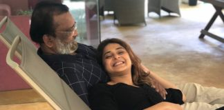 Jennifer Winget With Her Father