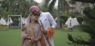 Niti Taylor With Husband Parikshit