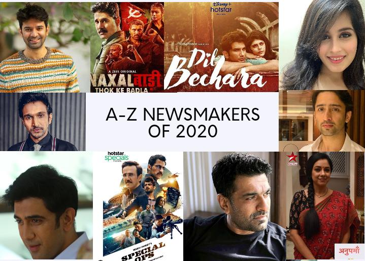 The A To Z Newsmakers Of 2020 From Television And Digital Medium