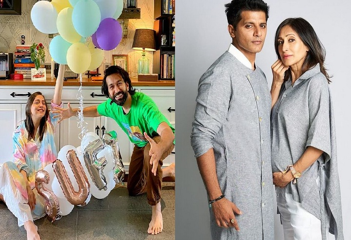 Telly Couples Nakuul Mehta With Jankee And Karanvir Bohra With Teejay Announce Their New Born's Names !